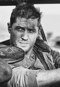 Tom Hardy in Mad Max, inkless