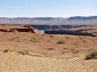 Flooded Canyons Near Hite's Crossing At The Upper End Of Lake Powell