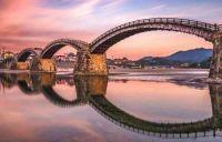 Most Kintaikyo, Iwakuni, Japonsko