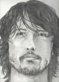 My drawing of Dave Grohl ....smaller