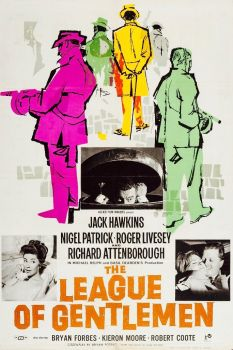 THE LEAGUE OF GENTLEMEN - 1960  JACK HAWKINS,NIGEL PATRICK, RICHARD ATTENBOROUGH