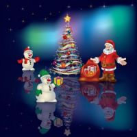 christmas-blue-greeting-santa-claus