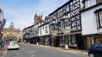 Broad Street Ludlow Shropshire UK