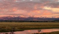 090616 Sunrise on the Crazy Mountains KEMcDonnell photo