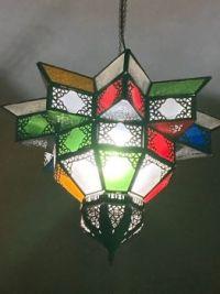 A light fixture at our local Moroccan & Mediterranean Cuisine  restaurant