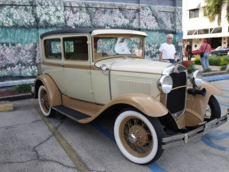 30 Ford Model A 2 dr