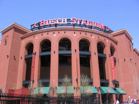 Busch Stadium in St Louis