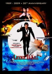 JAMES BOND 007--LICENCE TO KILL !