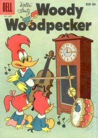 Woody Woodpecker: One Clock Band