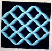 Bargello needlepoint - traditional - 2