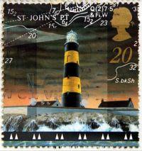 Lighthouse on Stamp