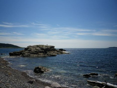 Rocky Shores on the Cabot Trail in Nova Scotia, Canada