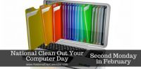 Today Is National Clean Out Your Computer Day!!
