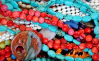 Pearls, Turquoise and Corals