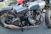 Panther single cylinder motorcycle