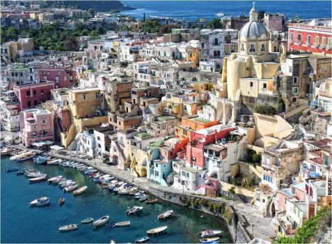Italy  The small island of Procida.
