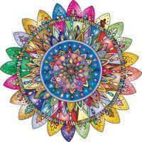 Bright Mandala (400 by request)