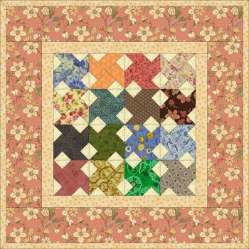 Whirlwind Quilt Small