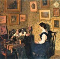 Edwardian Interior (1907)