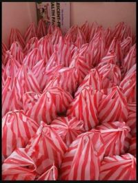 Bags of Food to deliver to the needy