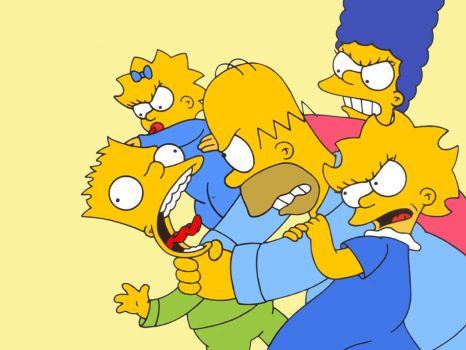 Simpsons hentai homer fucks marge