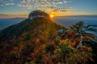 Pilot Mountain Sunrise