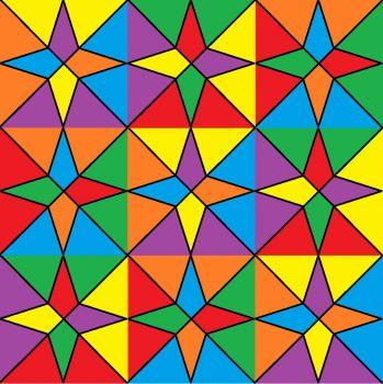 coloured stars 144