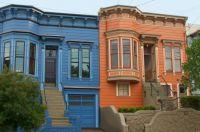 Victorian houses San Francisco