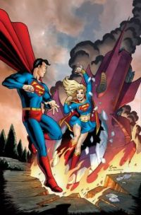SUPERMAN MEETS SUPERGIRL