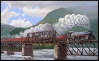 Canadian Pacific Railway Crossing British Columbia