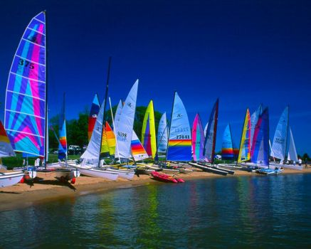 Sailboats at Gunpowder