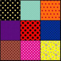 Polka dot patterns 2