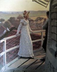 Edmund Blair Leighton - The Windmiller's Guest