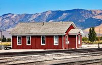 Ely train depot building