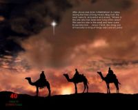O Star of wonder, star of night, Guide us to thy Perfect Light