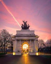 The Wellington Arch Hyde Park, London  6052