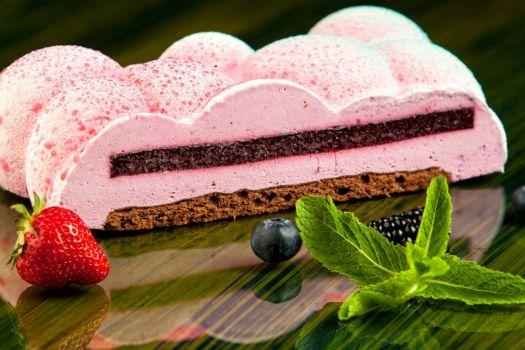 Berry Mousse Dessert