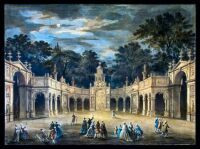 Illuminations to Celebrate the Birthday of King George III, 1793 by Robert Adam