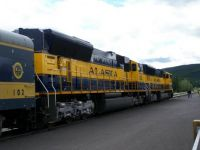 Alaska Railroad Double Header