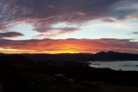 Sunrise over the Huon River