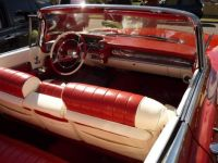 Red Cadillac - interior