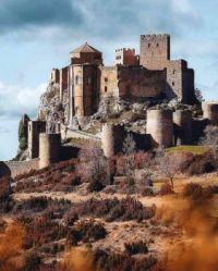 Medieval castle of Loarre Spain