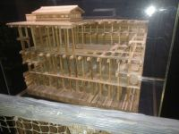 Noah's  Ark - scale model of it's structure