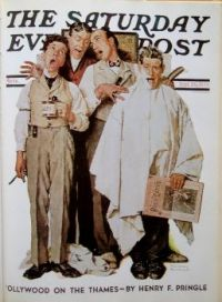 Norman-Rockwell-Saturday evening post cover