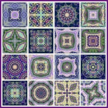 Caleidoscopo Fiberdabbler Sampler 13 by Lucy Nieto on Flickr