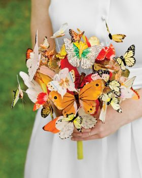 Paper butterfly bouquet from Martha Stewart