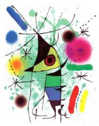 The Singing Fish, by Joan Miró