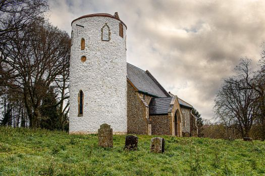 Church of St Nicholas, West Lexham, Norfolk, UK