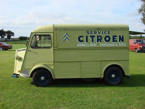 Citroen H - A van for all uses