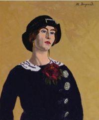 Marius Borgeaud (Swiss, 1861–1924), Coco Chanel
